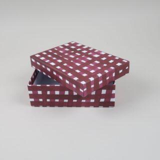 A6 Storage Boxes covered in Gabriela Trzebinski for Black Bough Paper