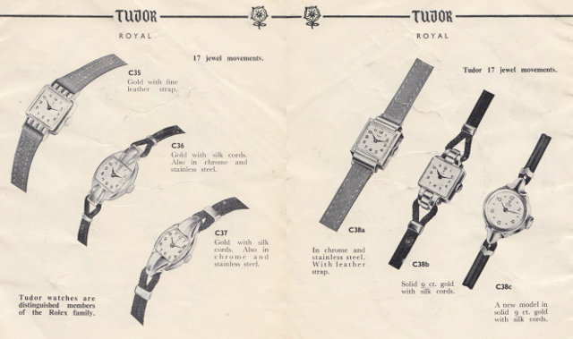 tudor cocktail watches