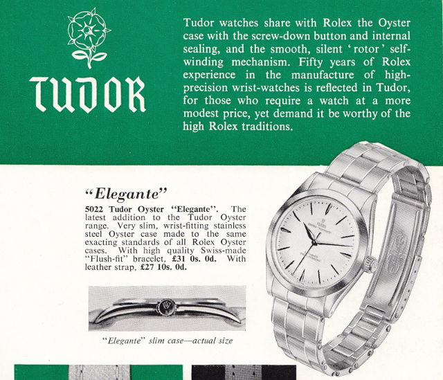 tudor elegante advert 2