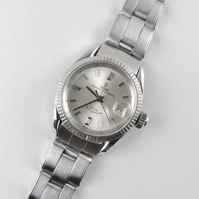 Steel Tudor / Rolex Princess Oysterdate Ref. 7582 vintage wristwatch, dated 1966