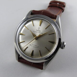 Steel Tudor Oyster Prince Ref. 7965 vintage wristwatch, dated 1959