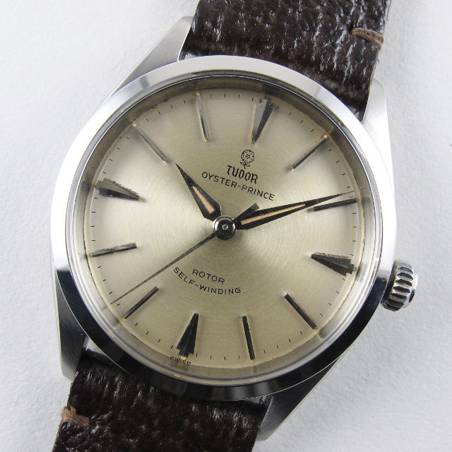 Tudor Oyster Prince Ref. 7965 steel vintage wristwatch, dated 1960
