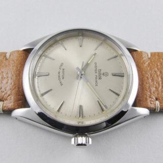 Steel Tudor Oyster Prince Ref. 7965 vintage wristwatch, dated 1962