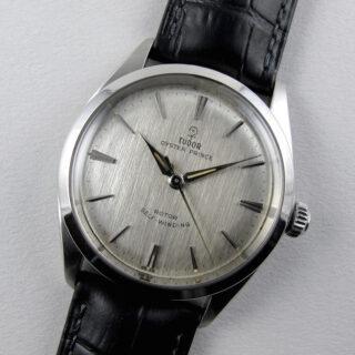 Tudor / Rolex Oyster Prince Ref. 7965 steel vintage wristwatch, dated 1963