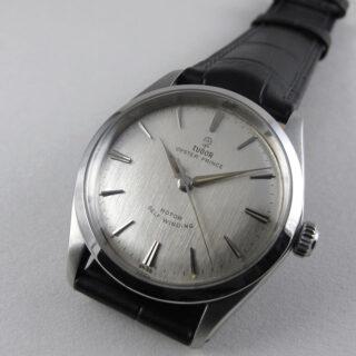 Tudor/ Rolex Oyster Prince Ref. 7965 steel vintage wristwatch, dated 1963
