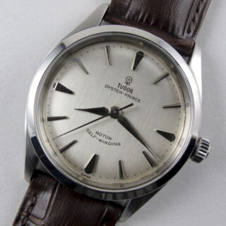 Steel Tudor / Rolex Oyster Prince Ref. 7965 vintage wristwatch, dated 1964