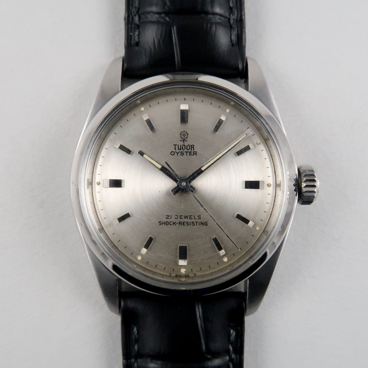 Tudor Oyster Ref. 7934 steel vintage wristwatch, circa 1964