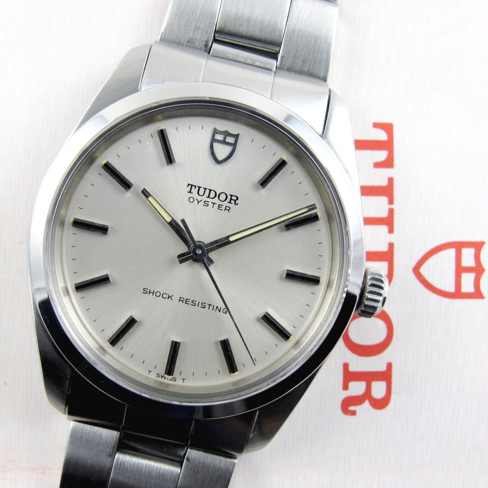 Tudor Oyster Ref. 7991/0 steel vintage wristwatch sold in 1976