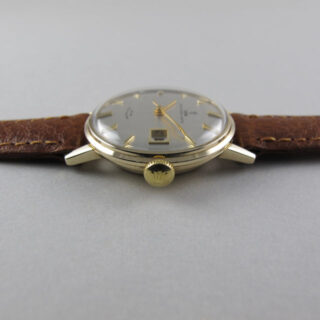 Tudor Princess Date gold vintage wristwatch, circa 1966