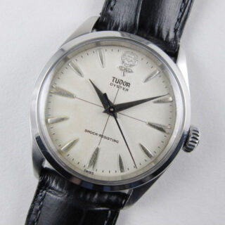 Steel Tudor / Rolex Oyster 'Big Rose' First Series Ref. 7934 vintage wristwatch, circa 1958