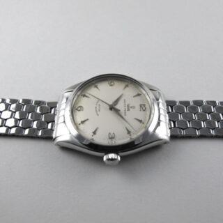 Steel Tudor / Rolex Oyster Prince Ref. 7965 vintage wristwatch, dated 1959