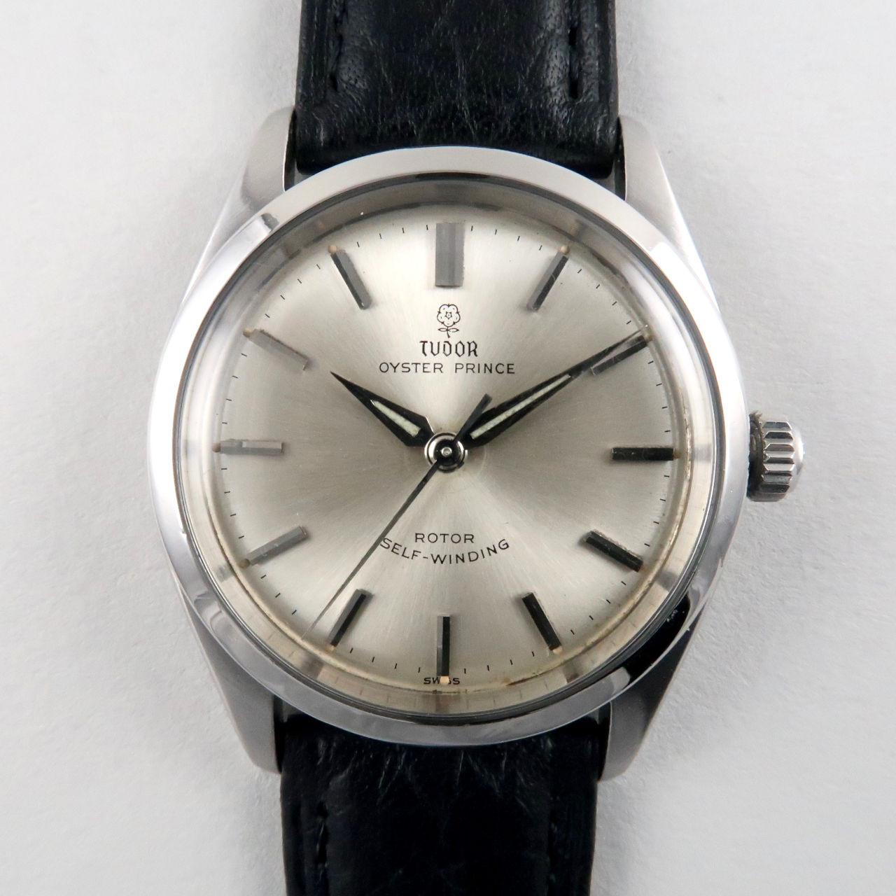 Tudor / Rolex Oyster Prince Ref. 7965 steel vintage wristwatch, dated 1960