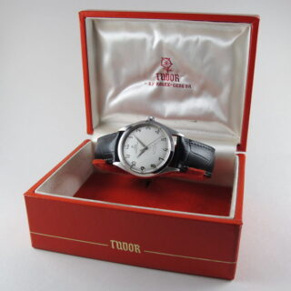 Steel Tudor / Rolex Oyster Prince Ref. 7965 vintage wristwatch, dated 1964
