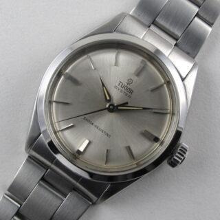 Steel Tudor / Rolex Oyster Ref. 7934, vintage wristwatch dated 1963