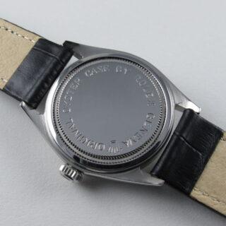 Steel Tudor / Rolex Oyster Royal Ref. 7934 vintage wristwatch, date stamped 1963