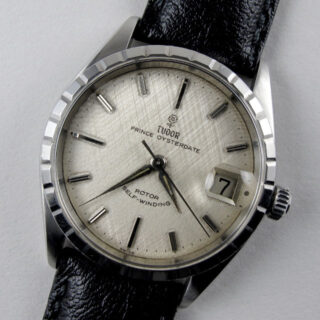 Steel Tudor / Rolex Prince Oysterdate Ref. 7966 vintage wristwatch, dated 1964