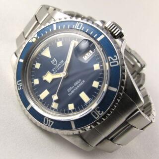 Steel Tudor / Rolex Prince Oysterdate Submariner 'Snowflake' Ref. 94110, circa 1978
