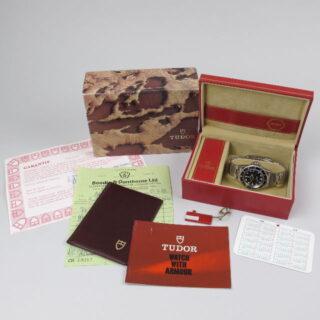 Steel Tudor / Rolex Prince Oysterdate Submariner Ref. 76100 vintage wristwatch, circa 1986