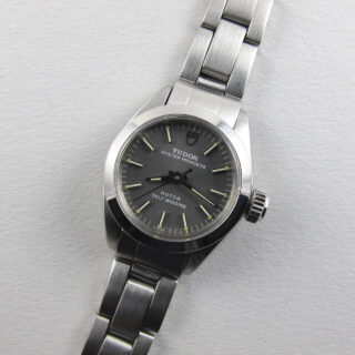 Tudor / Rolex Princess Oyster Ref. 92100 steel vintage wristwatch, sold in 1982