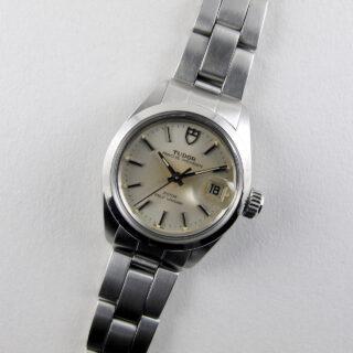 Tudor / Rolex Princess Oysterdate Ref. 92400 steel vintage wristwatch, circa 1984