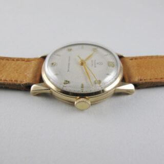 Tudor / Rolex Royal gold vintage wristwatch, hallmarked 1956