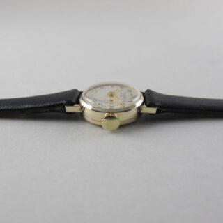 Tudor / Rolex Royal lady's gold vintage wristwatch, hallmarked 1965