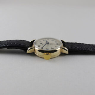 Tudor Royal gold lady's vintage wristwatch, hallmarked 1953