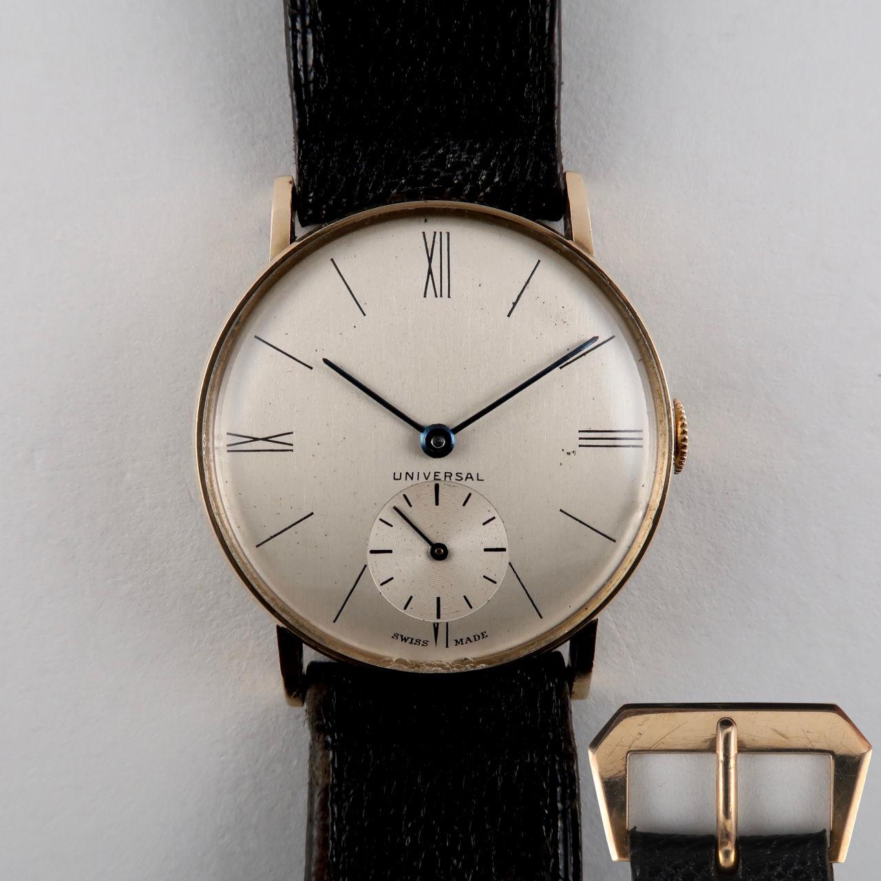 Universal Genève Ref. 5590 hallmarked 1938