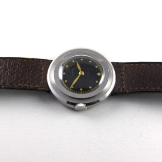 """Steel Universal Genève retailed by Boodle & Dunthorne Liverpool, """"Prince"""", vintage wristwatch, circa 1935"""