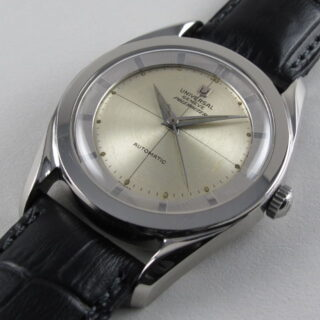 Steel Universal Polerouter Ref. 20217 -5 vintage wristwatch, circa 1955