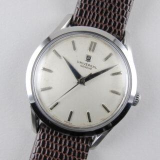Steel Universal Ref. 206513 -1 vintage wristwatch, circa 1956