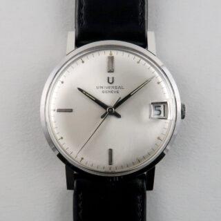Universal Ref. 211502 -2 steel vintage wristwatch, circa 1962