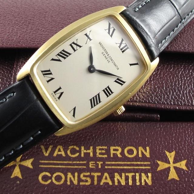 Gold Vacheron Constantin Ref. 7594 vintage wristwatch, made in 1969