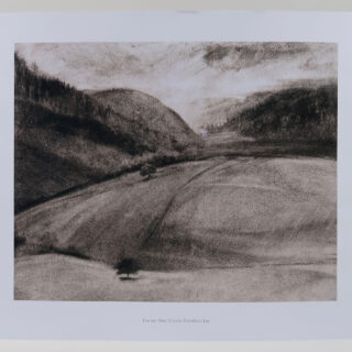 View Into Wales Print by Victoria Fitzwilliam-Lay