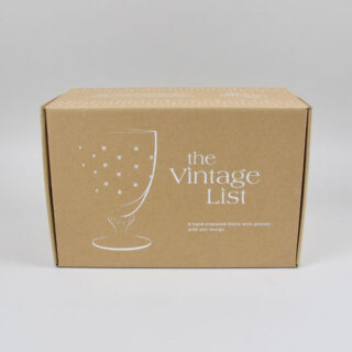 Bistro Wine Glasses with Stars - Box of 6