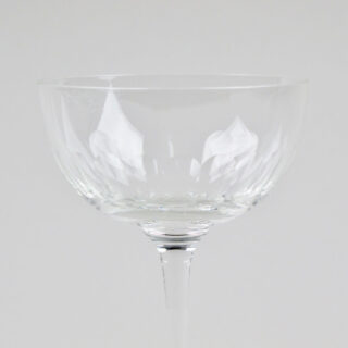 Box of 6 Etched 'Lens' Design Champagne Coupes