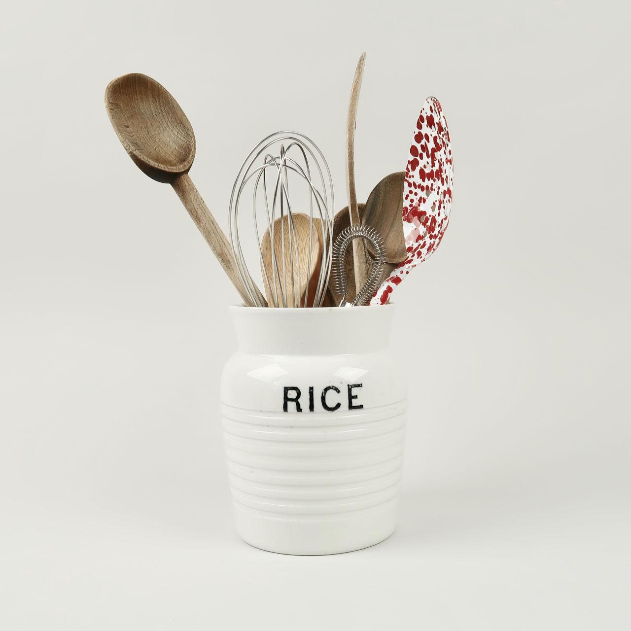 Vintage Rice Jar