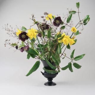 Wedgwood Black Campana Vase