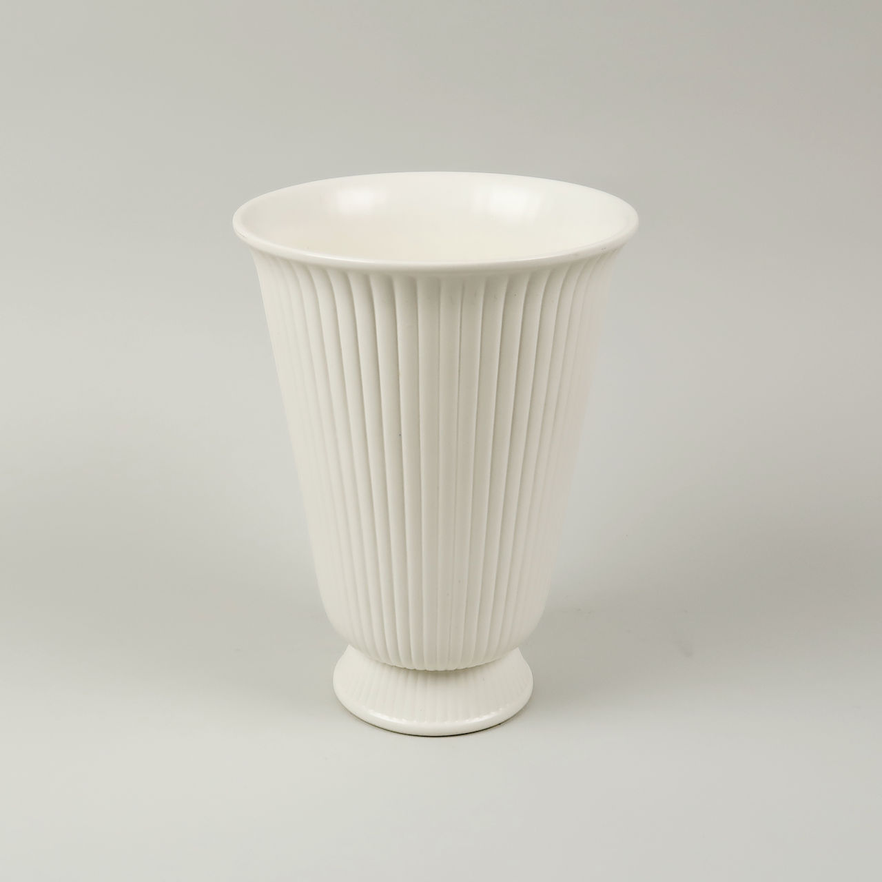 Wedgwood Ribbed Vase
