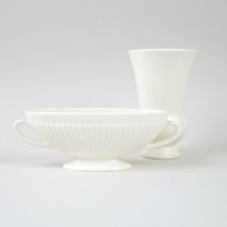 Small Wedgwood Ribbed Vase