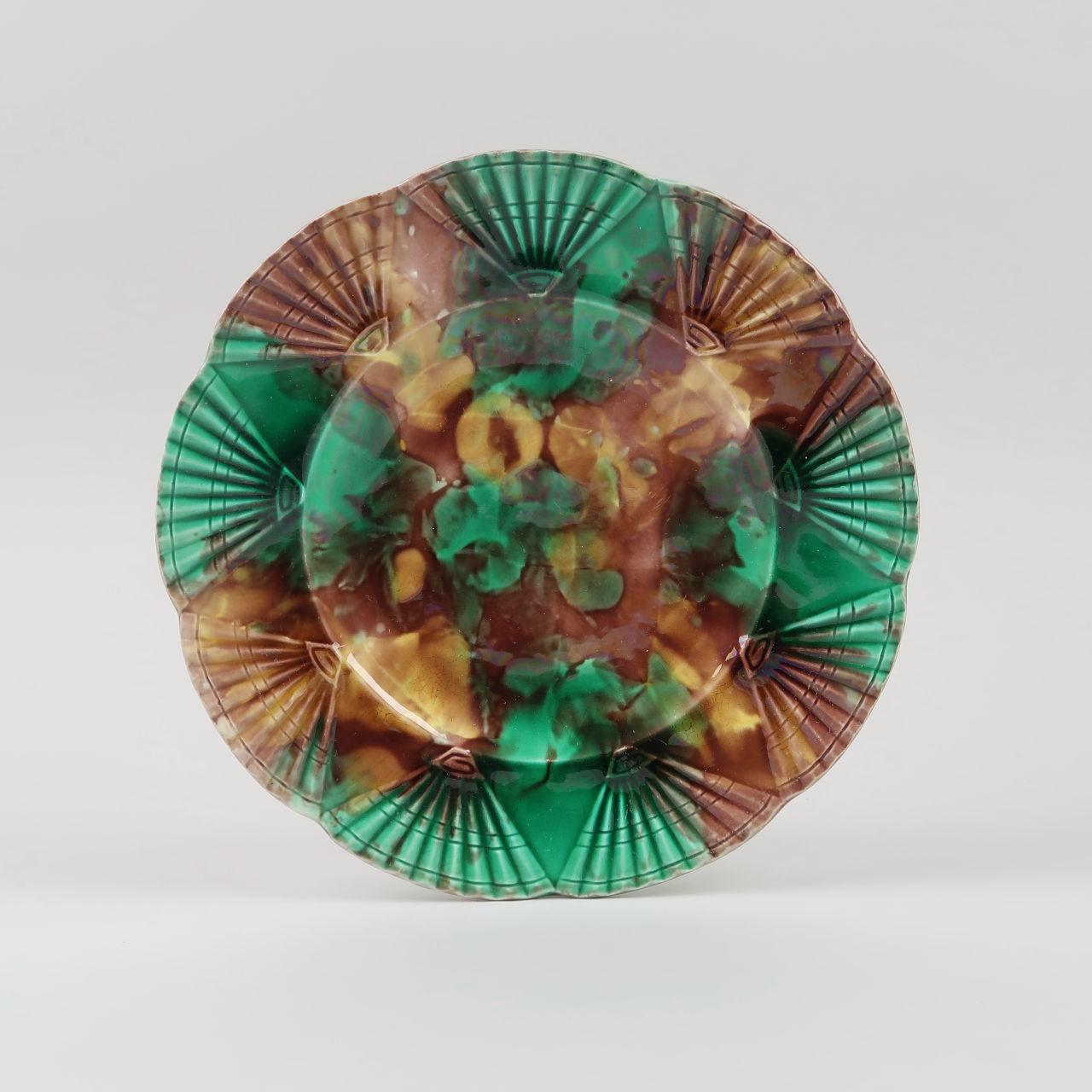 Wedgwood Tortoiseshell Glaze Plates