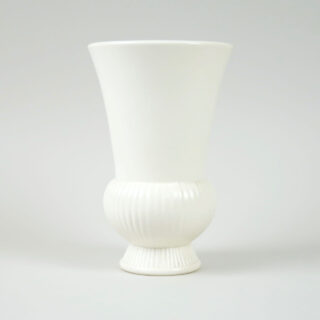 Wedgwood Tulip Form Ribbed Vase