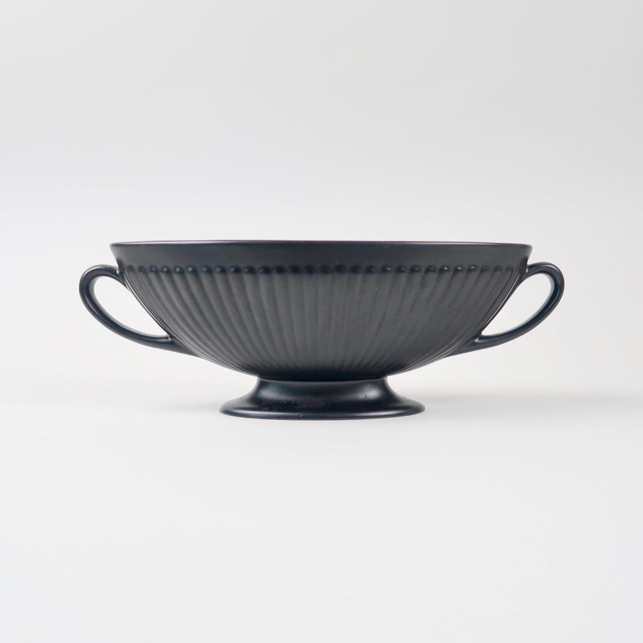 Wedgwood Ravenstone Twin-Handled Vase