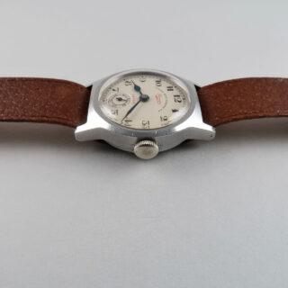 West End Watch Co 'Sowar' with Taubert Fils Case circa 1940 | steel vintage hand wound wristwatch