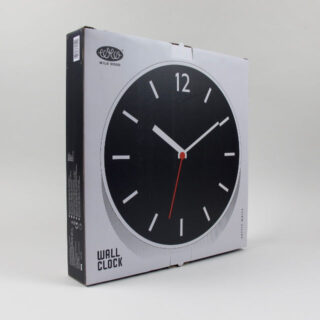 Wall Clock - Arctic White