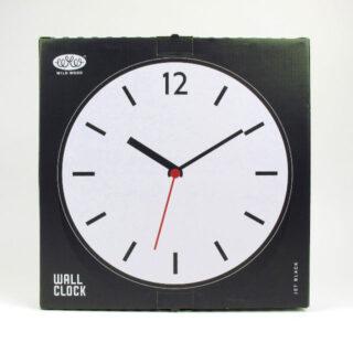 Wall Clock - Jet Black