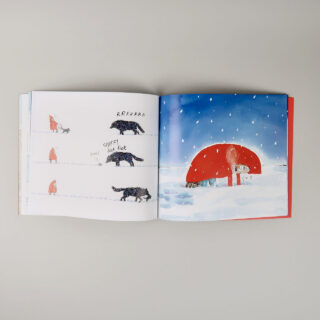 Wolf in the Snow - Matthew Cordell