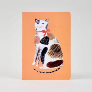 Orange Calico Cat Notebook