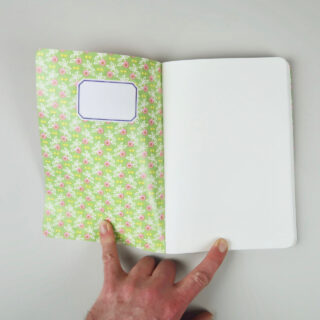 Lucky Notes Cat Notebook