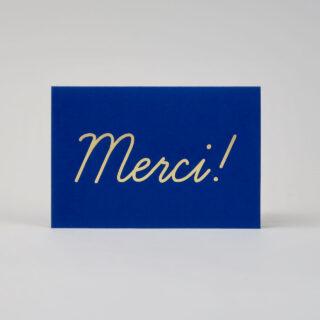 Merci! Greetings Card